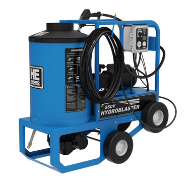 Electric Motor, Hot Water Pressure Washer