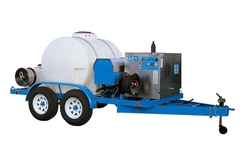Hydroblaster Trailer Mounted Pressure Washers