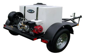 Mobile Cold Water Pressure Washer System