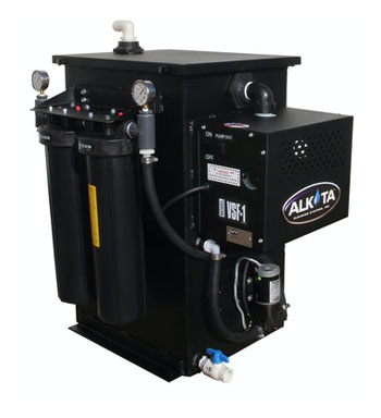 PRESSURE WASHER RECYCLING - VACUUM FILTRATION SYSTEM