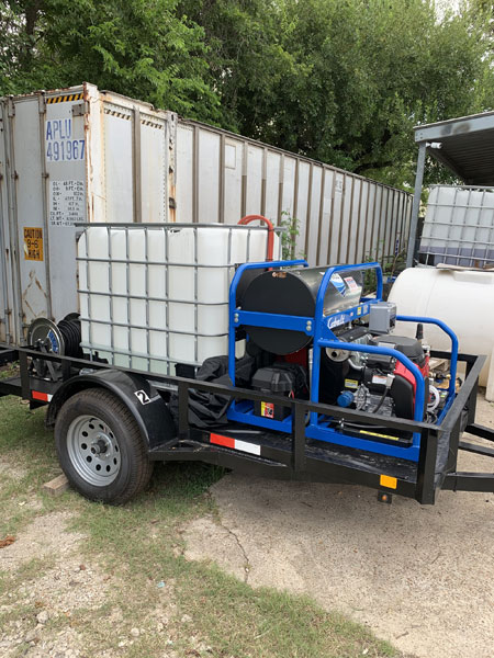 Hot water washer 5.5 GPM @ 3500 PSI with no recovery system