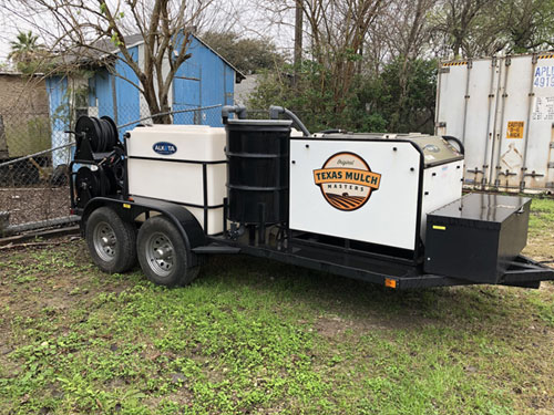Hot water washer with recovery system / Two power washers